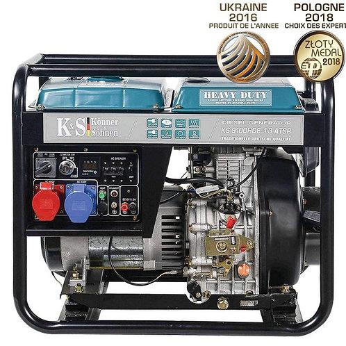 KS 9100HDE-1/3