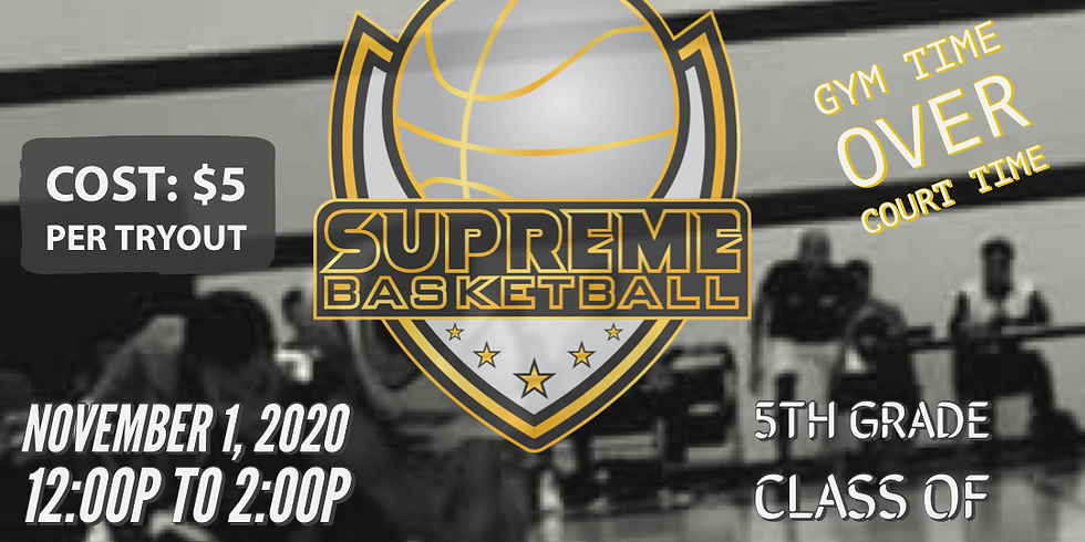 Supreme Try Outs