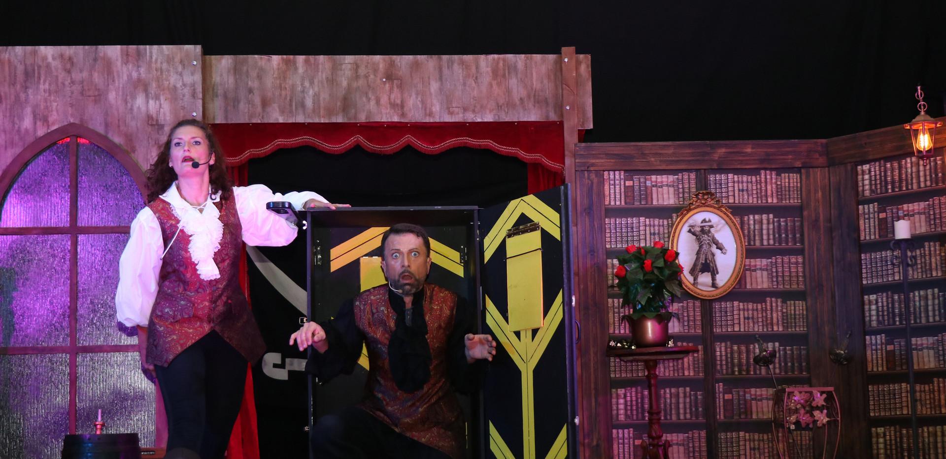 le magicien dans la boîte