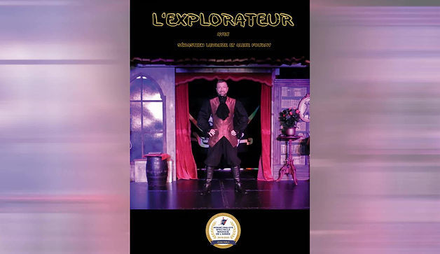 spectacle de magie et de grandes illusions thème pirate, magicien ladruze sébastien, spectacle présenté à nigloland