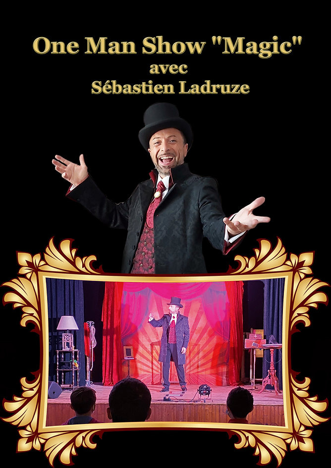 one man show magic seb seul 2021