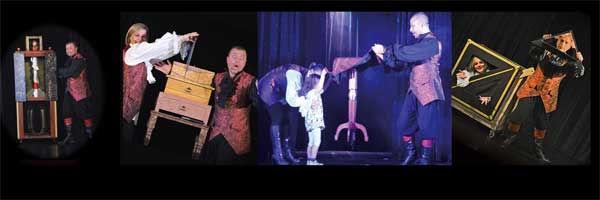 spectacle de magie sur le thème des pirates, magicien pirate, nigloland, hôtel des pirates, spectacle de noel, magicien bourgogne