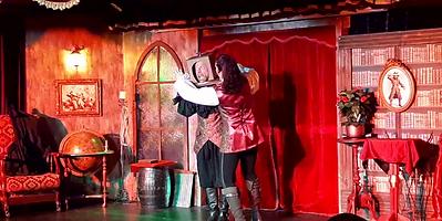 numéro comique magicien à nigloland