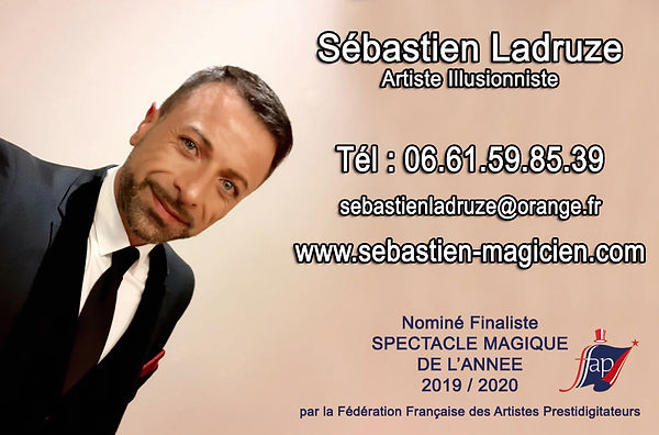 contacter un magicien illusionnist mentaliste sébastien ladruze
