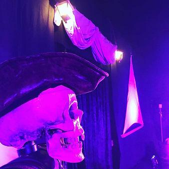 magicien pirate à nigloland, spectacle p