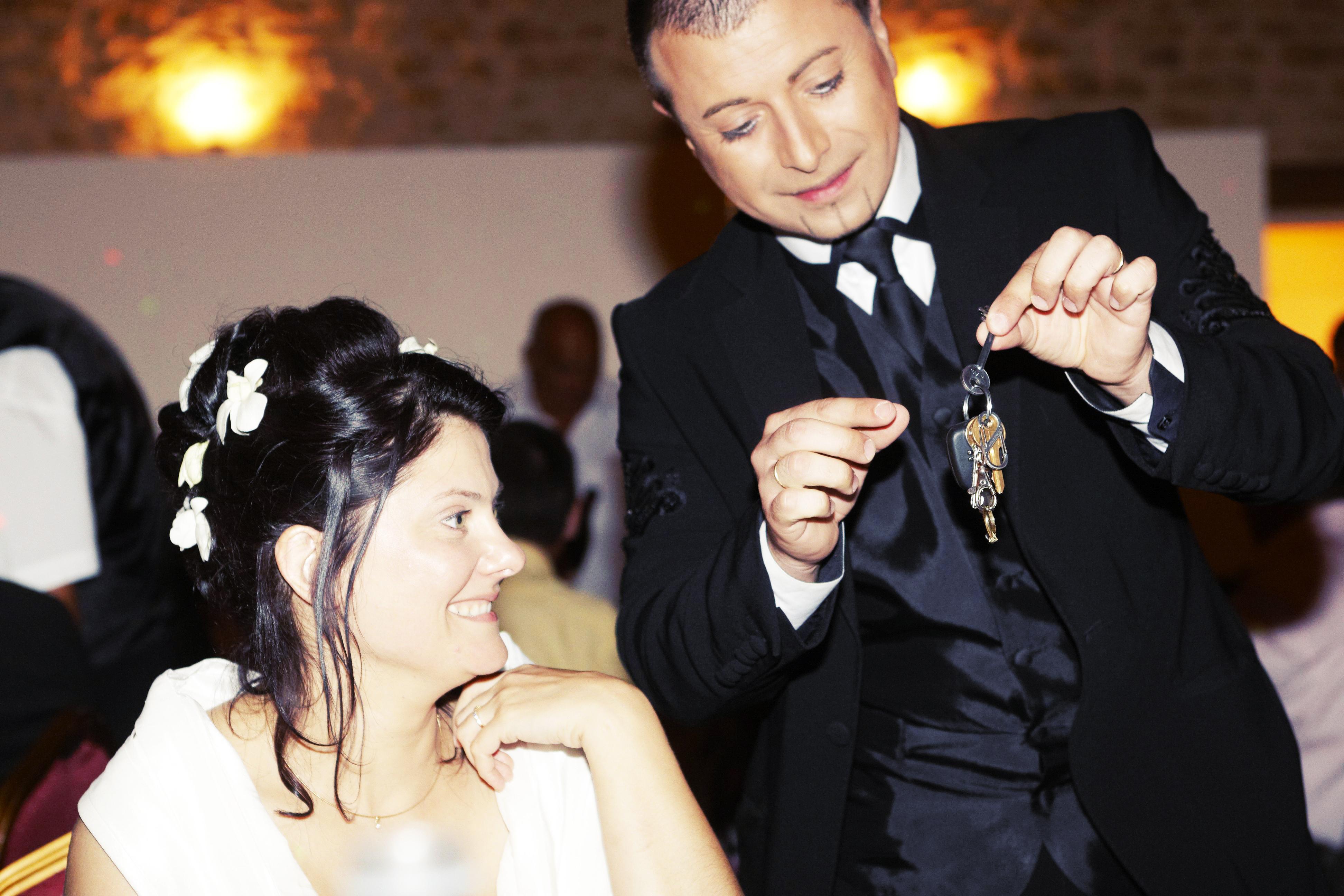 magicien pour un mariage