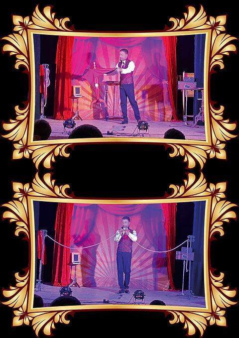 spectacle one man show magic sebastien l