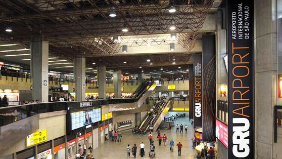 Pesquisa aponta Aeroporto Internacional de Guarulhos como um dos 50 aeroportos mais conectados do mu