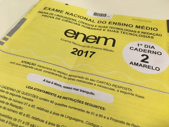 Resultados do ENEM já estão liberados para consulta