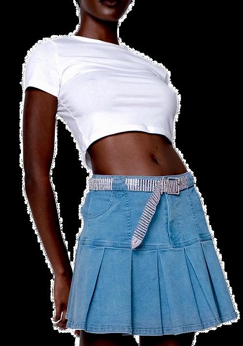 Denim Diva Skirt