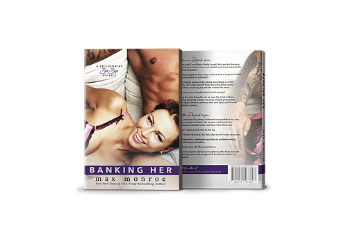 Banking Her Signed Paperback—UK, CA, AU, Continental E