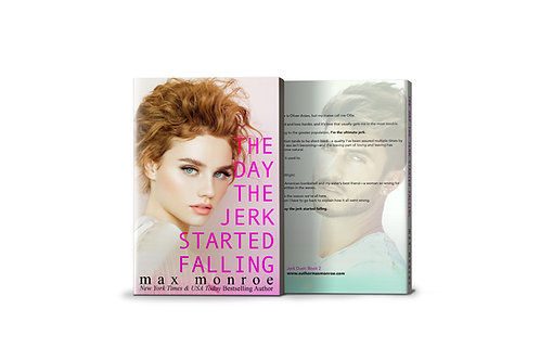 The Day the Jerk Started Falling - Signed Paperback-CA, UK, Continental EU, AU
