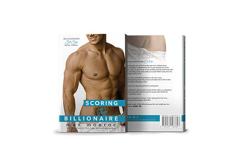 Scoring the Billionaire Signed Paperback