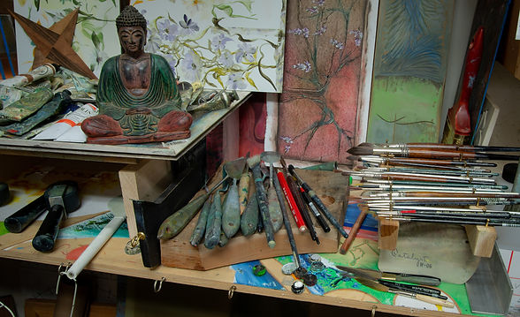 News from Studio, Buddha and Brushes, color_edited.jpg