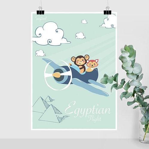 Egyptian Flight, turkis