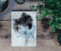 En plakat af et sjernetegn - vandmanden Zodiac