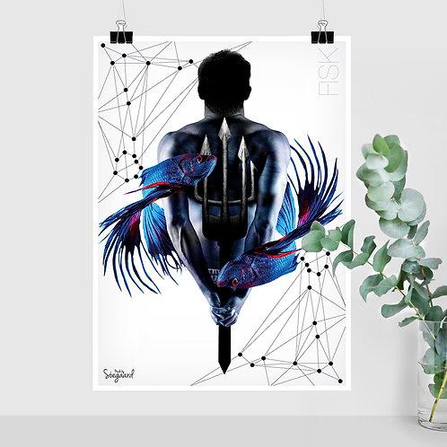 Fisk mand (50x70 med tekst)
