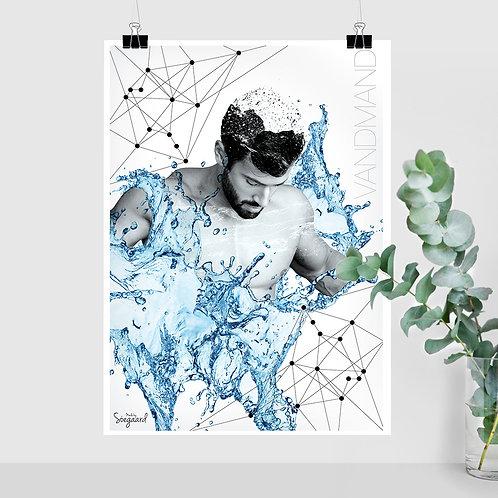 Vandmand mand (med tekst)