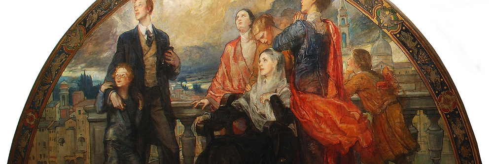 Violet Oakley, Man and Science, 1910-1911. Woodmere Art Museum