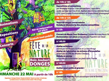 Fête de la Nature dimanche 22 mai 2016