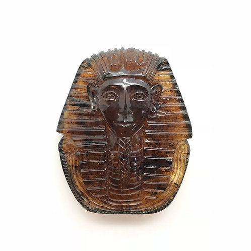 Amber King Tut Carving (AMB242)
