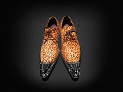 In schnellen Schuhen
