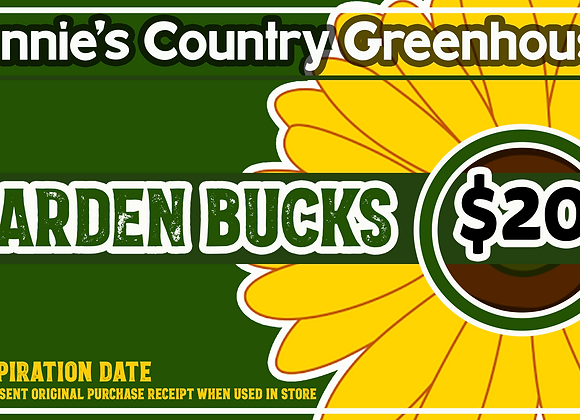 Garden Bucks