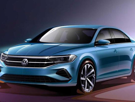 VW previews new Polo sedan