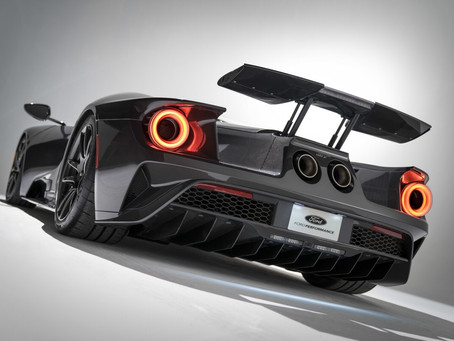 "Feast your eyes on the new ""Liquid Carbon"" Ford GT"