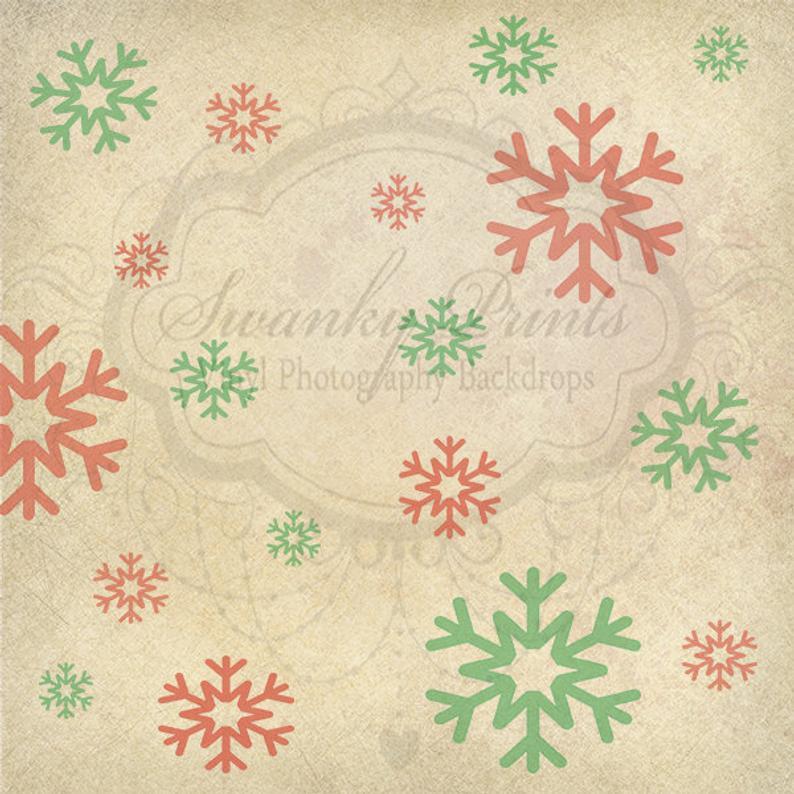 Christmas Wall Snow Flake Drop