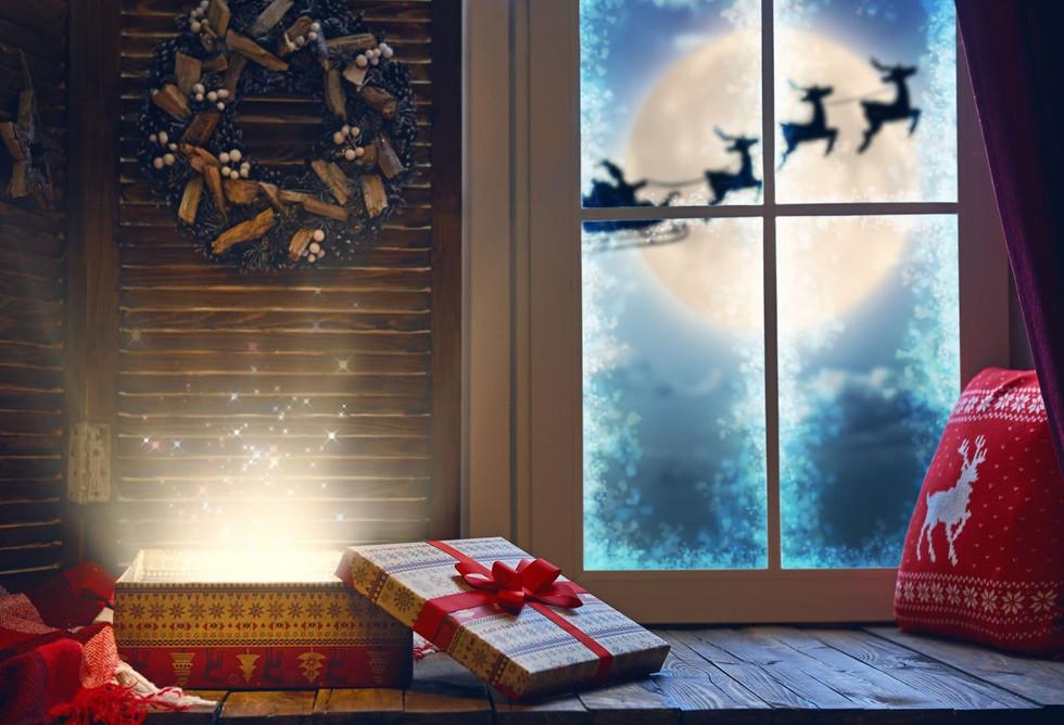 Christmas Window Drop