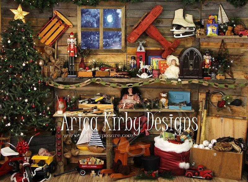 Santa's Toy Shop Christmas Drop