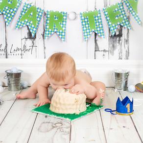 Cake Smash Minis - Cochrane Alberta