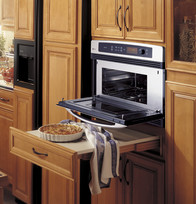 Oven Access with drop zone