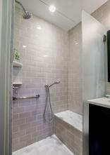 Universal family shower