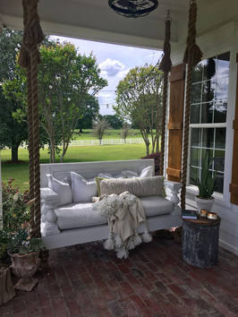 Porch Swing in the County