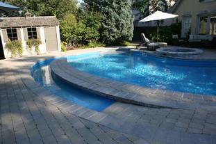 Roll in Pool