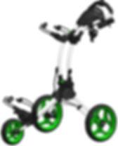 Clicgear Rovic Model RV1C Compact | 3-Wheel Golf Push Cart Review