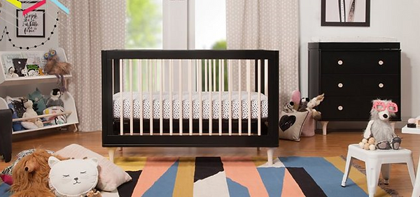 3-in-1 convertible crib with toddler bed