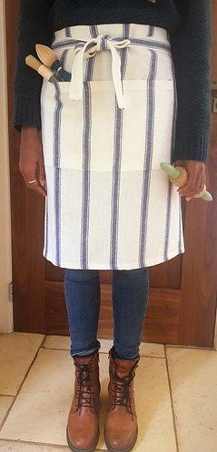 Beautiful Linen Striped Apron