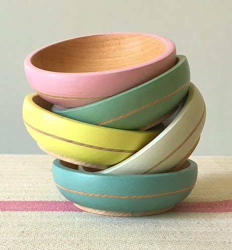Pots & Nibble Bowls with Scoop