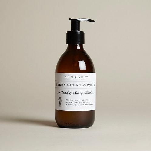 Green Fig & Lavender Hand & Body Wash