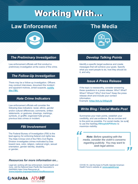 Working with Law Enforcement and the Media