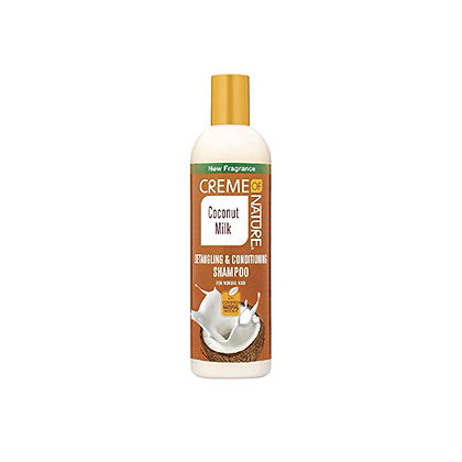 CREME of NATURE - Coconut Milk - Detangling & Conditioning Shampoo