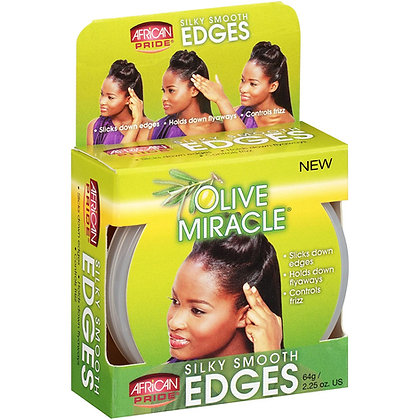 African Pride - Olive Miracle Silky Smooth Edges