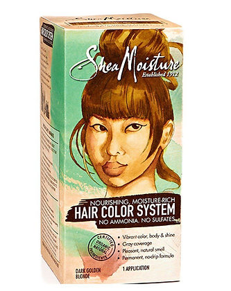 Shea Moisture Hair Color System Dark Golden Blonde