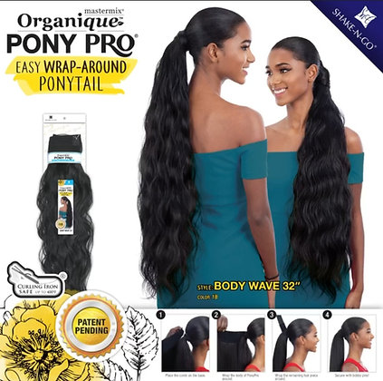 Body Wave - Organique Pony Pro Wrap Around Ponytail