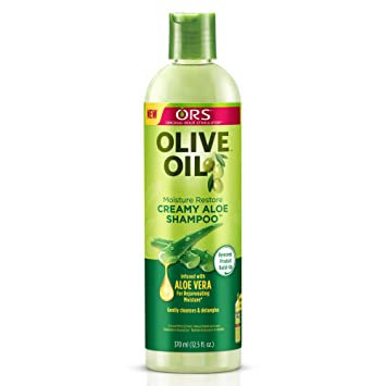 Original Root Stimulator (ORS) Olive Oil Moisture Restore Creamy Aloe Shampoo