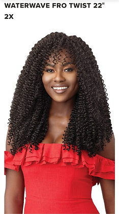 """Outre Passion WATER WAVE FRO TWIST 22"""" 2X"""
