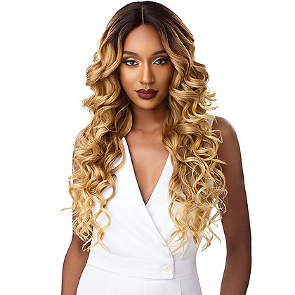 JERICKA - Outre & Play Lace Front Human Hair Blend Wig